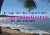 translate 500 words from English to Spanish Today