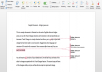 edit and proofread your document accurately