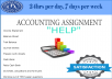 do your Accounting Assignments