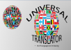 Translate English App Description To Any 5 Language