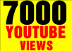 give 7000 To 7500 Youtube views