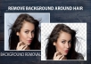 Remove or Change Background 30 Photos In 24 Hours for $5