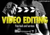 offer you best video editing servise