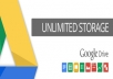 sell a google drive unlimited account
