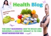 Post Health content in DA 36 Blog