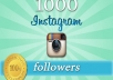 Guaranteed 1000+ Instagram Followers in 12-72 hours.