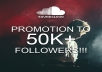 promote your track to 50,000+ Soundcloud users