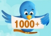 Looking for the Best Place to Get Twitter Followers from?  You should only Get Twitter Followers from companies that run Real Ads in order to gain you more Active Twitter followers.Using this marketing method will make sure your Followers are from Active Users and ensures that your New Followers Won't Be Removed!  What I Offer ?  1 - Permanent Twitter Followers  2 - Super fast & Professional Service 3 - 100% Safe To Your TWITTER Account 4 - No password require 5 - Split Available 6 - 100% customer satisfaction  If you have any questions – feel free to ask me! Followers are real. What Are You Waiting For??