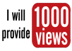 How to Get More Organic Views  Getting YouTube Views is one of the most popular, easy and quickest way to get views on your videos.  There are tons of other ways to gain more exposure, more attention and of course, more views. We've put together some of the most effective, creative and easiest ways you can start marketing your YouTube Videos and start building an awesome Subscriber-base.   ✔ Real, Organic Views ✔ 100% Money-Back Guarantee ✔ Genuine Comments & Likes ✔ Social Promotion new service ✔ Excellent Customer Support ✔ Saw Results in 24 Hours