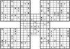 more than 400 5-Samurai sudoku puzzles with solutions.