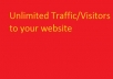 hi I will drive 2000 quality traffic to your website,