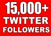 Twitter Permanent Service Provider i will be 24/7 online to answer your questions maximum 2 splits available adding up to 300k order will be processed in 24 hours we are delivering it in 2 days.no admin needed,followers are permanent so you dont worry about the unfollow,real Followers