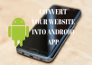 Convert Your Website Into Android App Fast (APK + QR CODE)