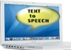 provide Text to Speech program