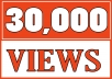 Add 30,000 YOUTUBE FAST VIEWS