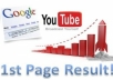 show you how you can rank your Youtube videos on Google 1st Page