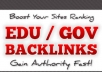show you how to get UNLIMITED edu and gov links for your site