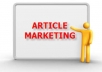 Now a days Article Marketing is the best way to get more backlink for your business or blog. You can collect many article directory from search engine. but its difficult to know which is published quickly. That's why I've compiled my own solution: a list of 1600 AUTO-APPROVED article directories which are publish your content very quickly. And you will get more traffic or backlink from my private list.
