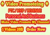 Promote Your PTC/HYIP/REVENUE site From My YouTube Channel