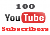 give 100 Youtube Subscribers NON DROP Only 24-48 Hour