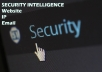 Provide Security Intelligence Report About Your Website IP Or Email Id