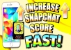 Provide Fast Snapchat Services 8000 Snapchat Score