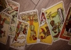 I will read a 4 card Email Tarot spread for you. Real cards involved. I will also send a photo of the cards drawn to your email address.  You can ask as many questions as you like, but the cards may only focus on one.  I am a self employed reader with a lot of experience, please view my profile page for more information.