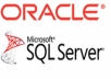 work on database in Oracle or MS SQL server