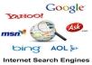 add your website or blog url in every search engines for fast visibility and clicks
