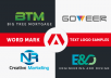 design logo for your company or brand