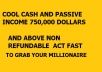 Show you where to get FAT CASH and become billoonare