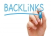 give you 50 high quality backlink