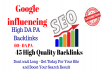 Google Influencing 45 Backlinks from High 60+ DA PA Web 2.0 Profile Backlinks