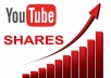 deliver 500 Youtube video SHARES