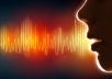Record your female voice over