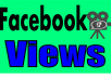add You Real 10,000+ facebook video views