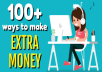 teach you nothing less than 100 ways to earn online