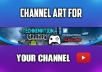 Design A Youtube Channel Banner