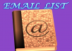 Targeted email list are very important . Are you in need of targeted email list to increase your business traffic, Product promotion and any other things?