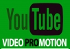 Do Youtube Video Promotion And Distribution