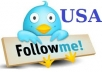 deliver 500 UK and USA Twitter followers - Promotion