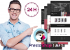 I will design a professional SEO Optimized and responsive Prestashop website for you.