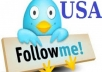 deliver 2000 UK and USA Twitter followers - Promotion