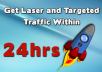 Give You A Trick To Get Targeted Traffic Within 24 Hours