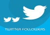 send 3000 twitter followers Real & Lifetime