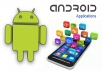 create custom android application for you and publish it on play store