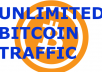 show you how to get unlimited bitcoin traffic
