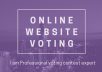 Make Great Quality Voting For Your Contest