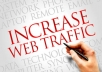 send 1500 quality traffic daily to your website