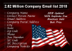Sell 2 Million USA Company B2b Emails, States Wise List 2018 Update